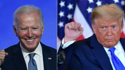Trump says he can KO Biden in a fight