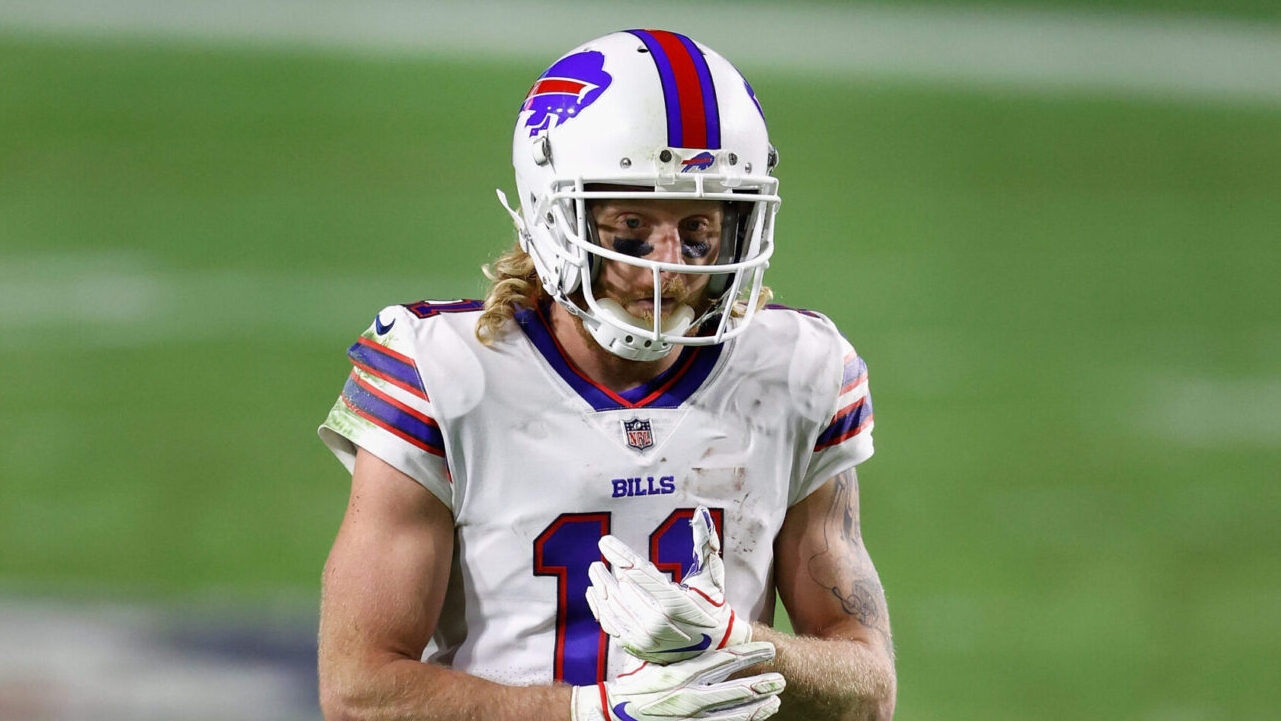 Unvaccinated Buffalo Bills wide receiver Cole Beasley gets roasted for dropped pass