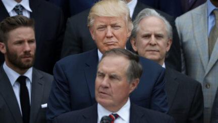 Patriots' Bill Belichick supported Trump in 2016