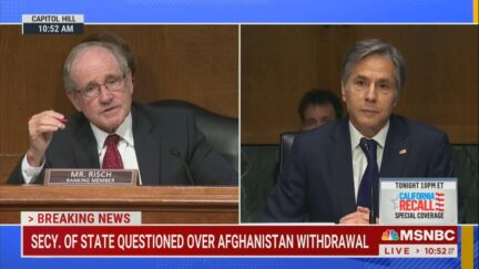 Risch questions Blinken during committee hearing on Afghanistan