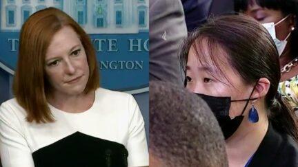 Jen Psaki Seung Min Kim briefing white house 9-8