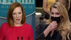 Jen Psaki Shuts Down Newsmax Reporter