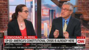Jeffrey Toobin Sounds Alarm on Constitutional Crisis