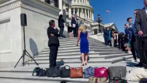 Reps. Marjorie Taylor Greene and Debbie Dingell Get Into EPIC Screaming Match On Capitol Steps