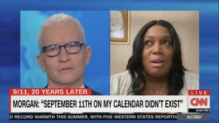 Nykiah Morgan on AC360 talking about 9/11