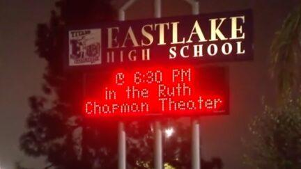 Eastlake High School sign
