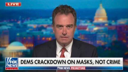 Charlie Hurt rails against mask mandates