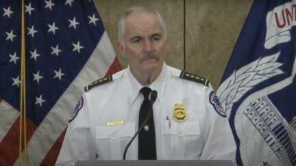 U.S. Capitol Police Chief Thomas Manger gives presser on upcoming Justice for J6 rally