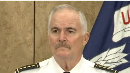 U.S. Capitol Police Chief Thomas Manger