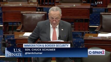 Chuck Schumer Calls on Biden to Stop 'Hateful and Xenophobic Trump Policies,' Mistreatment of Haitian Migrants at Border