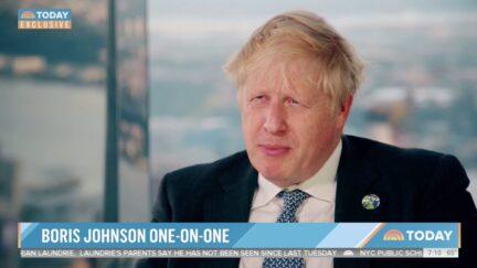 Boris Johnson on NBC's TODAY