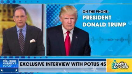 David Brody interview Donald Trump