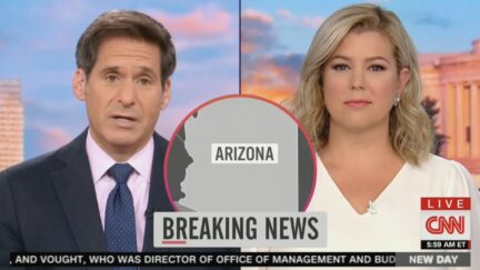 John Berman Mocks Trump's Arizona Result