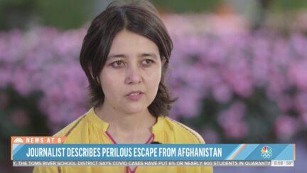 Fatema Hosseini describes escape from Afghanistan