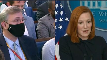 Michael Shear and Jen Psaki go back and forth at WH press briefing Sept. 30