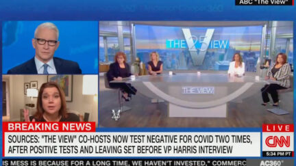 Ana Navarro Addresses Testing Positive for Covid on The View