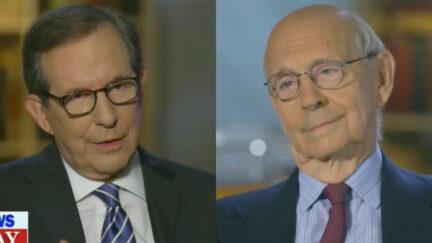 Chris Wallace Asks Stephen Breyer About Partisanship in Congress