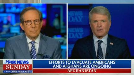 Michael McCaul Says Taliban Won't Let Americans on Planes Leave