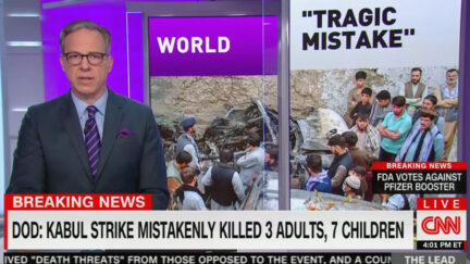 Jake Tapper Calls Out Pentagon on Kabul Strike