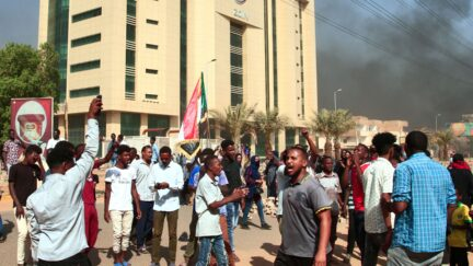 Coup in Sudan on Oct. 25
