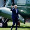 President Biden Returns To Washington, DC After Long Weekend In Delaware