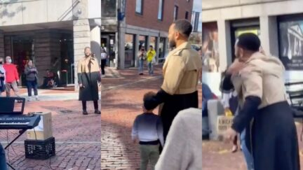 John Legend Surprises Boston Street Performer as She Plays His Hit