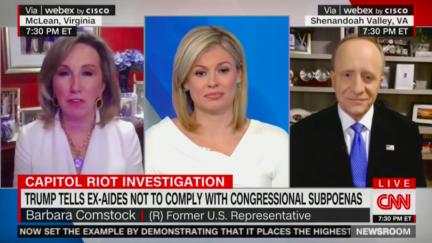 CNN panel about Jan. 6