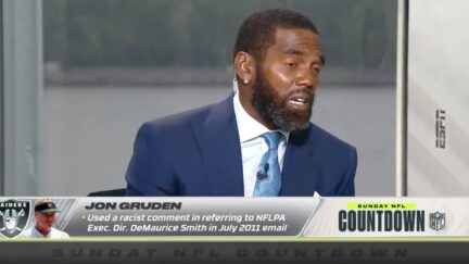 ESPN's Randy Moss Powerfully Condemns Jon Gruden for Racist Email
