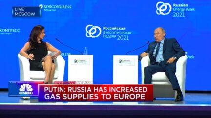 Vladimir Putin on CNBC