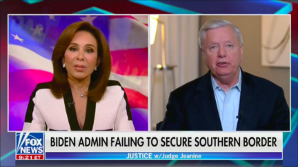 Lindsey Graham and Jeanine Pirro