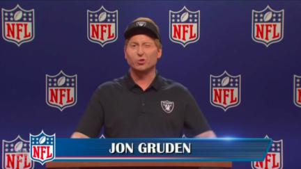 SNL parodies Jon Gruden