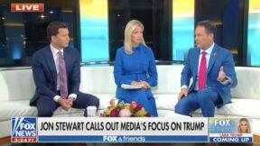 Fox & Friends Lauds Jon Stewart over Media Criticism on Trump
