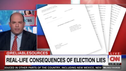 Brian Stelter on CNN