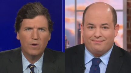 Brian Stelter Blames Tucker Carlson for Prolonging the Pandemic