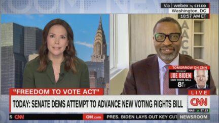 Derrick Johnson on CNN to discuss voting rights bill