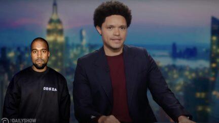 Trevor Noah mocks Kanye West's name change on The Daily Show