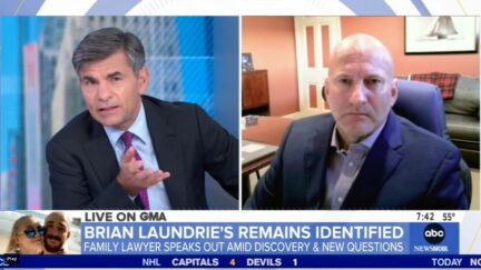 George Stephanopoulos questions Laundrie family attorney Steven Bertolino