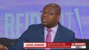 Jason Johnson slams Kyrsten Sinema