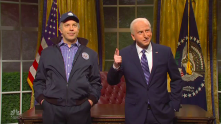 SNL Cold Open With Two Versions of Biden