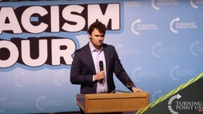 Charlie Kirk at TPUSA event in Boise