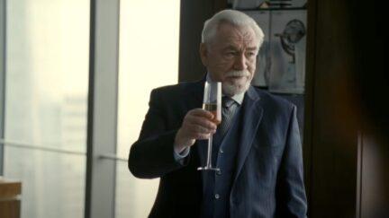 Brian Cox as Logan Roy in Succession