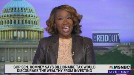 Joy Reid slams McConnell for opposing billionaires' tax