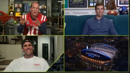 Tom Brady mocks defensive football players on ESPN