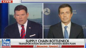 Bret Baier Presses Pete Buttigieg on Supply Chains