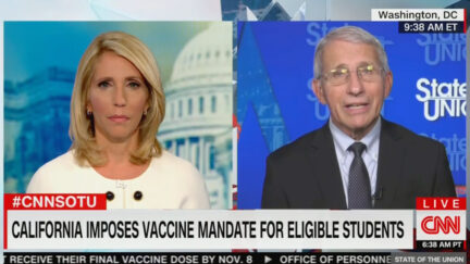 Fauci Commends Gavin Newsom Vax Mandate for Students