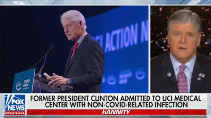Sean Hannity Takes Shot at Liberals as He Wishes Clinton Well