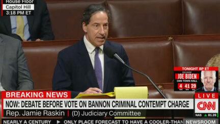 Jamie Raskin Rips Bannon Ahead of Contempt Vote