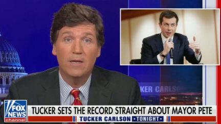 Tucker Carlson Mocks Buttigieg Again